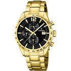 Orologio Cronografo Uomo Festina F20266 in Acciaio PVD Oro Quadrante Blu Nero