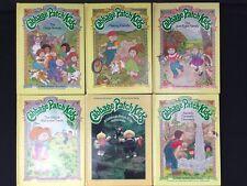 Set 6 Cabbage Patch Kids HB Parker Brothers Story Books Jan Brett Photo 1984