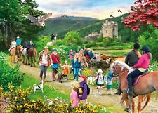 Gibsons - 1000 PIECE JIGSAW PUZZLE - Highland Hike Scotland