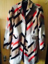 BNWT Armani exchange multicolour wool coat size M RRP £390.