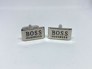 Hugo Boss Cufflink, made of solid brass and chrome, *free 1st class post*