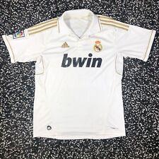 Adidas Cristiano Ronaldo Real Madrid BWIN ClimaCool 2011 2012 White Home Jersey