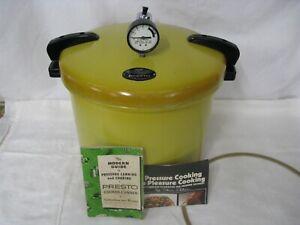 Vintage 1970's Presto Harvest Gold 21 Quart Pressure Cooker Canner 01/CA21H 1175