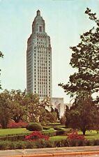 Postcard State Capitol Building Baton Rouge Louisiana