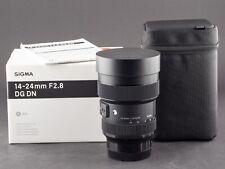 Sigma 14-24mm 2.8 DG DN ART L-Mount vom 30.09.19 FOTO-GÖRLITZ Ankauf+Verkauf