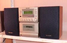 Mini Kompakt Stereoanlage Sharp XL510H mit Boxen, Tape CD Radio, siehe Text