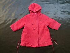 2 ans manteau velours fines côtes rose-framboise - MARESE - TRES BON ETAT fille