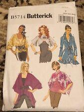 Butterick B5714 XSM-SM-MD Sweater Wrap Shrug Jacket Pattern