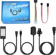 """Storite USB 2.0 to SATA/IDE Adapter Kit w/ Power Adapter for 2.5/3.5"""" Hard Drive"""