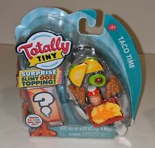 Totally Tiny TACO TIME 9 Piece Mini Food Set Including Surprise Slimy Ooze