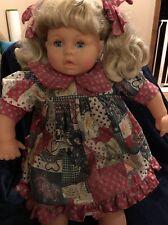 """Lissi Batz Doll 23"""" N-1053 NB Germany - Vintage Blue Eyed Blonde Antique Rare"""