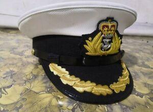 UK navy captain hat all sizes