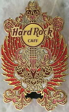 Hard Rock Cafe ONLINE 2010 Valentine's Day PIN Heart Wings Guitar LE 100 #52911