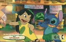 RARE / CARTE TELEPHONIQUE - LILO ET STITCH : DISNEY / PHONECARD