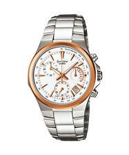 CASIO SHE-5019SG-7A Sheen Chronograph Retrograde Bracelet White