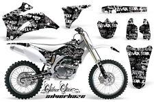 AMR RACING OFF ROAD MOTOCROSS GRAPHIC DECO KIT YAMAHA YZ 250/450 F 06-09 SHWBGK