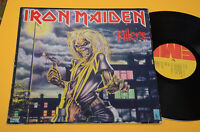 IRON MAIDEN LP KILLERS 1°ST ORIG JUGOSLAVIA EX ! RARE DIFFERENT LABEL !