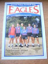 30/08/1983 Crystal Palace v Peterborough United [Football League Cup] (Team Chan