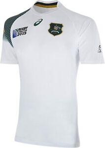 Asics Rugby World Cup 2015 Wallabies Away Rugby Shirt 123329WR Size XXL