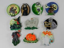 Halloween Kitchen Rubber Fridge Magnet Large Mummy Witch Monster Lot of 10 #1