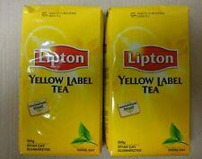 Lipton Yellow Label Schwarz Tea 500 gr