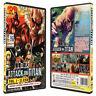 Attack On Titan Season 1 Vol.1-25 End Anime DVDs Box Set