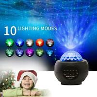 LED Galaxy Projector Light Starry Night Lamp Star Sky Cosmos Night Light Gift NW