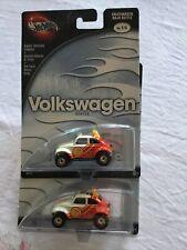 Hotwheels Hot Wheels Volkswagen Series 02 Baja Bugs White/Red Real Riders X2