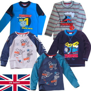 Kids Character Tops Thomas The Tank Engine Toy Story Boys Long Sleeve Printed