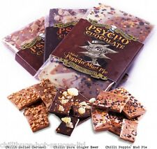 """PSYCHO CHOCOLATE - WITH NAGA JOLOKIA GHOST CHILLI"" 3 x 100g Bars"