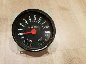 Original Jeep CJ3B CJ4 CJ5 CJ6  90Mph speedometer NOS Made in USA