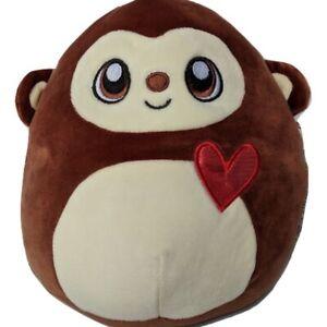"Squishmallow (Kelly Toy) Momo Monkey Heart 13"" Medium Plush Stuffed Animal"