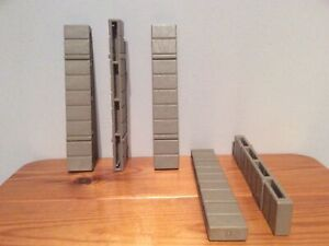 Playmobil Castle Wall Connector, 3666,3888,3667,3123 X 5