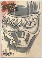 Kick-Ass Trading Cards ~ KEN HAESER Sketch Card ~ Kick-Ass (#115/185)