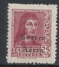 Spain stamps 1938 MI 793 ovpt CORREO AREA  MLH  VF  RARE!