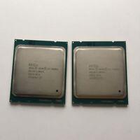 PAIR of 2Intel Xeon E5 2660 V2 2.2 GHz 10-Core 25M Processor LGA2011 95W CPU