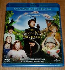LA NIÑERA MAGICA Y EL BIG BANG BLU-RAY+DVD NUEVO PRECINTADO COMEDIA (SIN ABRIR)