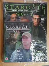 DVD COLLECTION STARGATE SG 1 PART 53 + MAGAZINE - NEW SEALED IN ORIGINAL WRAPPER