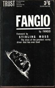 Fangio by Fangio & Giambertone  Pub. by Trust Books in 1963 Paperback edition