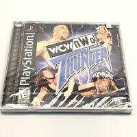 NEW WCW NWO Thunder (Sony PlayStation 1, 1999) PS1 Factory Sealed Hang Tab