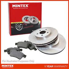 VW Touran 1T1 1T2 1.4 TSI EcoFuel MPV Genuine Mintex Front Brake Disc & Pad Set