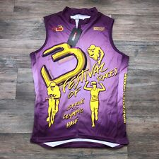 Sochack Designs Festival of Races Purple Tiathlon Jersey Mens M E32