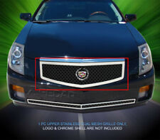 Fedar Fits 2003-2007 Cadillac CTS Black Dual Weave Mesh Grille Insert