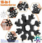 18 in 1 Portable Snowflake Wrench Multi Tool Stainless Tool Screwdriver KeyChain