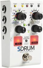 DigiTech SDRUM Strummable Drums Guitar/Bass Effects Pedal Drum Machine Stompbox