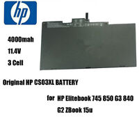 HP Laptop Battery CS03XL 4000mAh for HP Elitebook 745 850 G3 840 G2 ZBook 15u