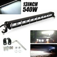 13INCH 540W Phare de Travail Cree Barre LED Feux Projecteur Offroad 4x4 12V 24V