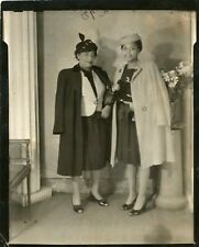 1940s Women Fashion Outfits Portrait Black American Photo African American 4x5""