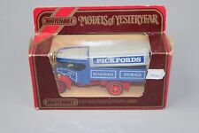 ZC1111 Matchbox Y27 Camion Miniature 1/35 1922 Foden Steam Lorry Pickfords N° 3