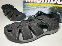 KHOMBU Men's Active Sandal Travis ~ Black ~ Size 9